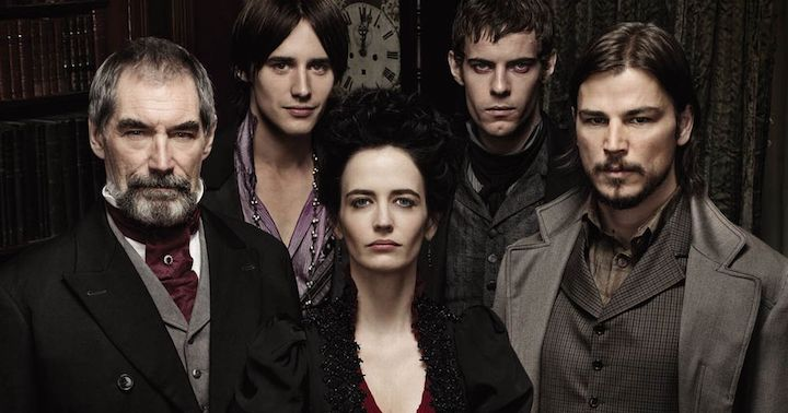 Malcom Murray, Doryan Gray, Evelyn Ives, Victor Frankenstein, Ethan Chandler from Penny Dreadful