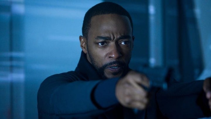 Anthony Mackie as Takeshi Kovacs in Altered Carbon, Season 2