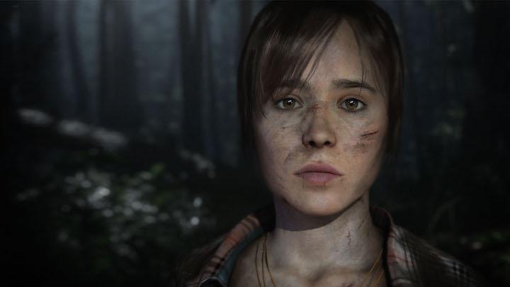 Screenshot of Ellen Page in Beyond Two Souls