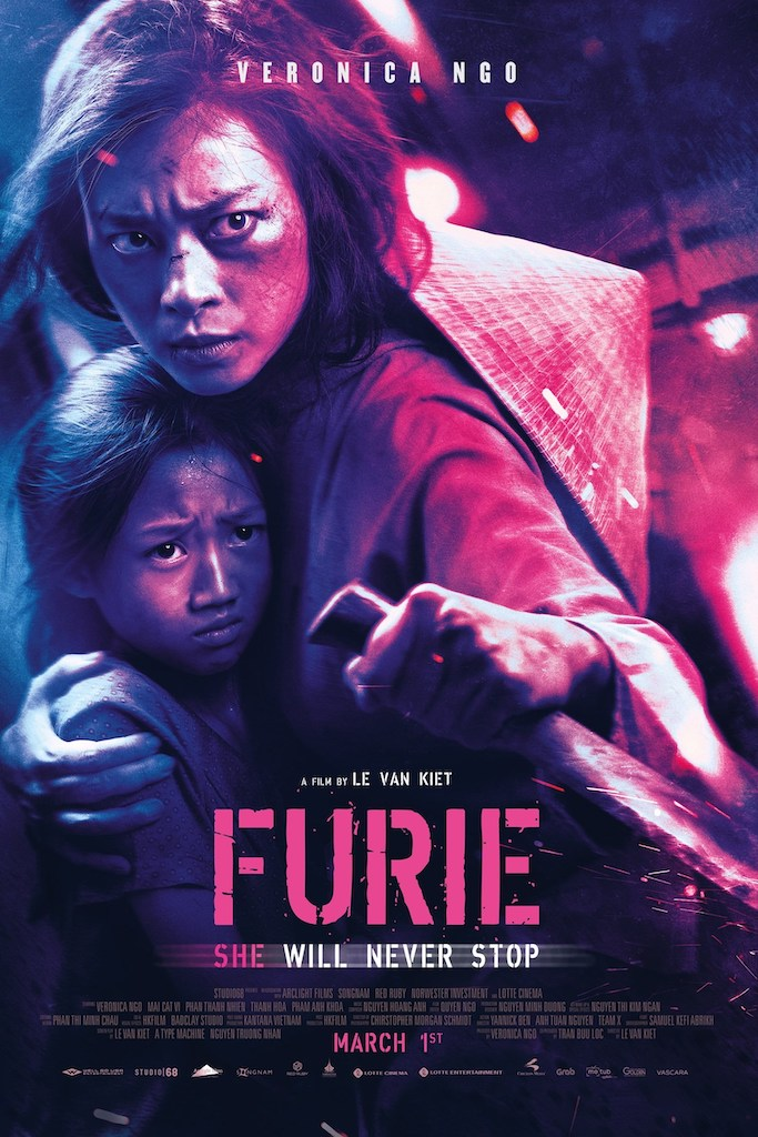 Furie movie poster