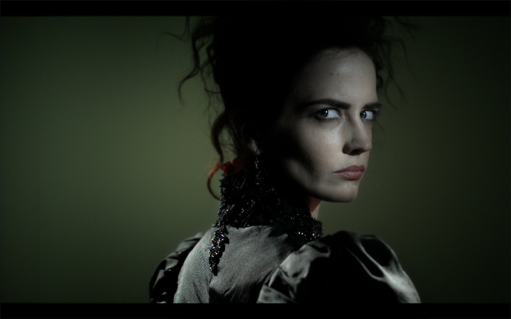 Eva Green as Vanessa Ives on Penny Dreadful