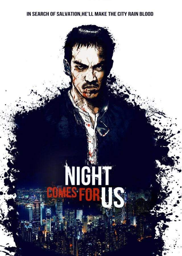 Poster for The Night Comes for Us