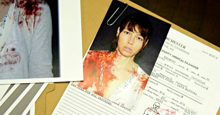Cora Tanetti's police file from The Sinner